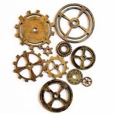 gears steampunk filler