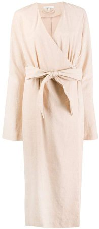 La Collection Waist-Tied Trench Coat