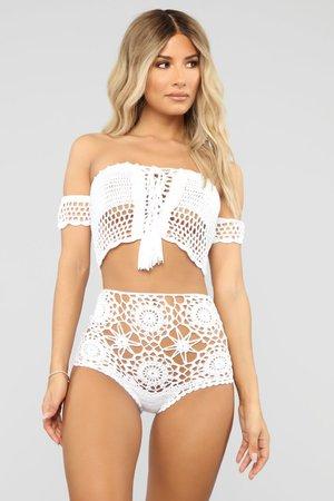 Serene Crochet Set - White