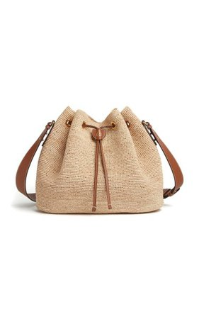 Joni Raffia Shoulder Bag By Mark Cross | Moda Operandi