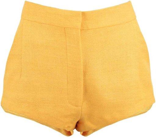 JULIANA HERC - Yellow Hot Pants