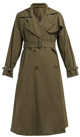 Albano Trench Coat - Womens - Khaki