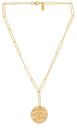 Electric Picks Jewelry Night Dreamer Pendant Necklace in Gold   REVOLVE
