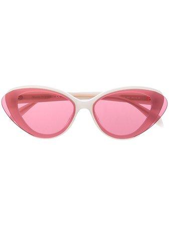 Alexander McQueen Eyewear Cat eye-solglasögon - Farfetch