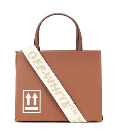 Mini Box leather shoulder bag