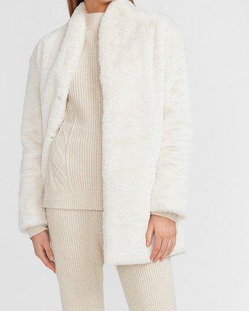 Cozy Faux Fur Coat
