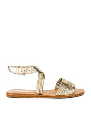 Copacabana Strappy Ankle Wrap Sandal