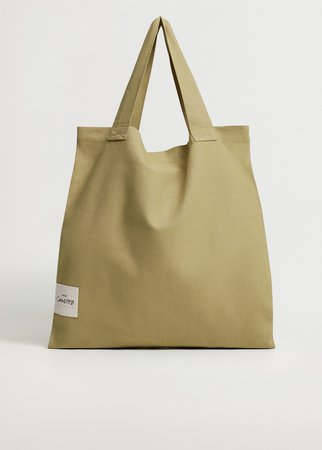 Organic cotton bag - Woman | Mango Lithuania