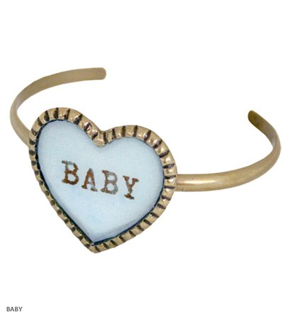 SWEET HEART big heart bangle Katie Official Web Store