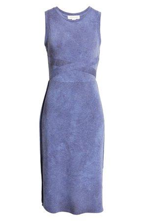 Treasure & Bond Tie Dye Midi Tank Dress | Nordstrom