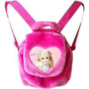 Furry Barbie Backpack - 90's Mini Backpack - Furry Backpack - Grunge - Rave - Plush Backpack