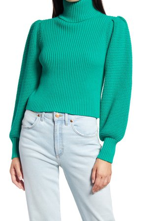 Lulus Statement Turtleneck Sweater | Nordstrom