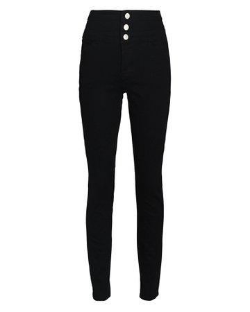 J Brand Annalie High-Rise Skinny Jeans | INTERMIX®