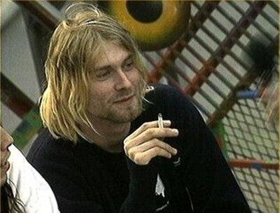 Kurt Cobain shared by @nyx_katherine on We Heart It