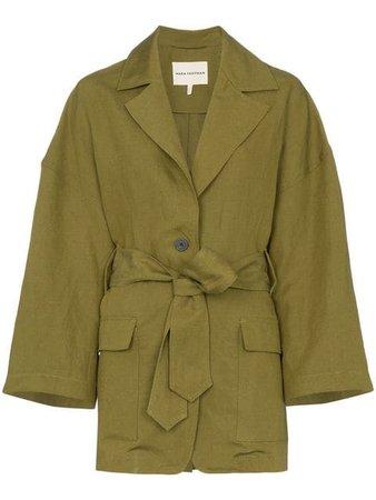 Mara Hoffman куртка Atticus с поясом - Купить в Интернет Магазине в Москве   Цены, Фото.