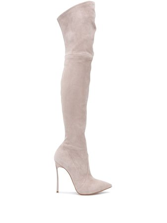 Casadei Came thigh-high Boots