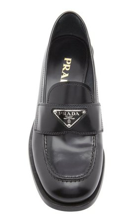 Leather Loafers By Prada | Moda Operandi