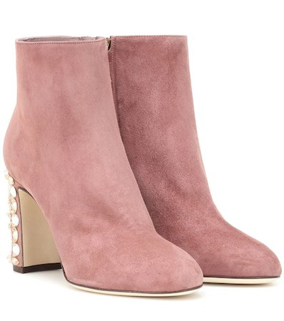 Vally suede ankle boots