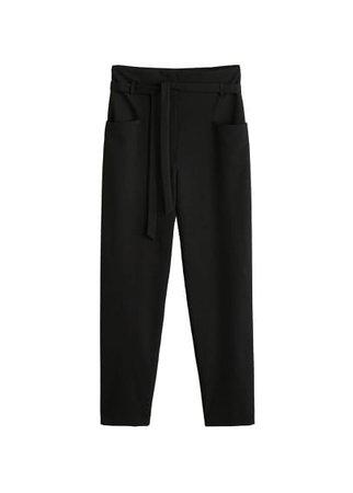 MANGO Patch pockets trousers