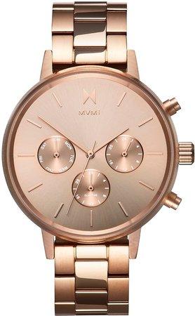 Nova Chronograph Bracelet Watch, 38mm
