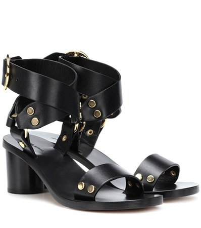 Jeyka leather sandals