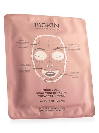 111Skin Rose Gold Brightening Facial Treatment Mask | SaksFifthAvenue