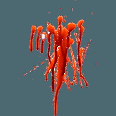 Blood Large Splatter transparent PNG - StickPNG