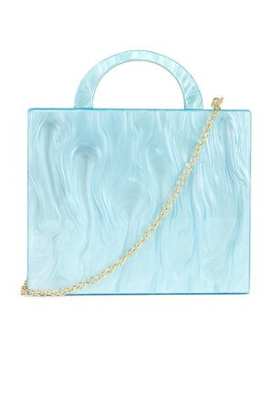 8 Other Reasons Cube Tote Bag in Blue   REVOLVE