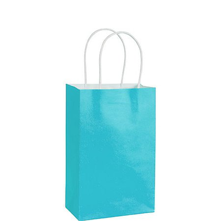 Small Royal Blue Paper Gift Bag 5 1/4in x 8 1/4in | Party City Canada