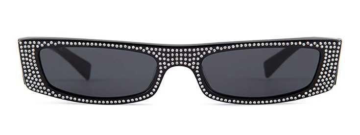 ALEXANDRE VAUTHIER X ALAIN MIKLI Jewelled Sunglasses