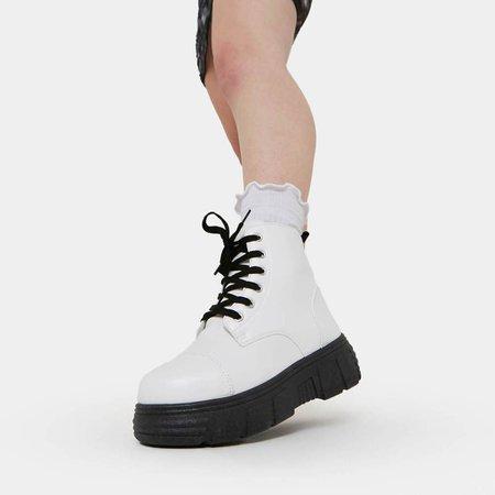 Makalu White Core Boots | Koi