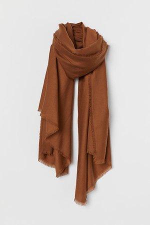 Scarf - Brown - Ladies | H&M US