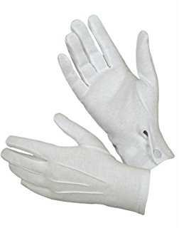 Amazon.com: Rothco Gripper Dot White Parade Gloves: Sports & Outdoors