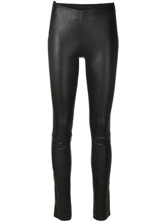 Drome Skinny Leather Trousers - Farfetch