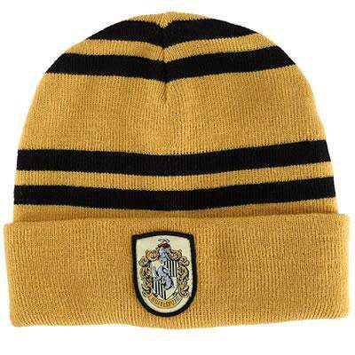 Hufflepuff Beanie Hat | Harry Potter Shop