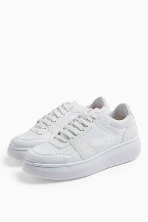 COLUMBIA White Trainers | Topshop