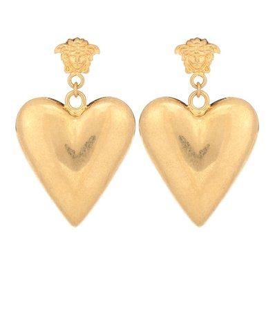Versace Heart Earrings
