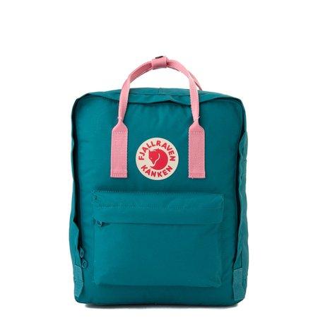 Fjallraven Kanken Backpack - Ocean Green / Pink | Journeys