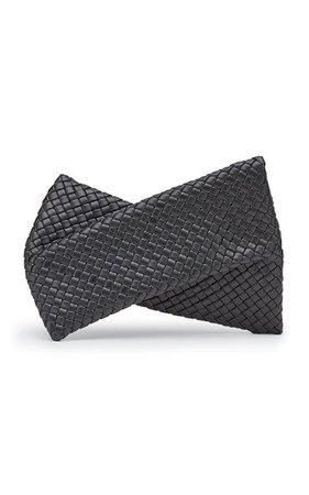 The Crisscross Leather Clutch By Bottega Veneta | Moda Operandi