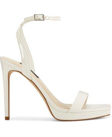 Nine West Women's Zadie Ankle Strap Sandals & Reviews - Sandals - Shoes - Macy's