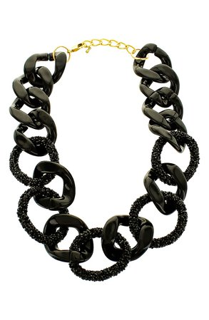 Panacea Resin Link Statement Necklace | Nordstrom