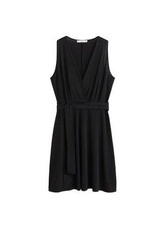 MANGO Bow short dress