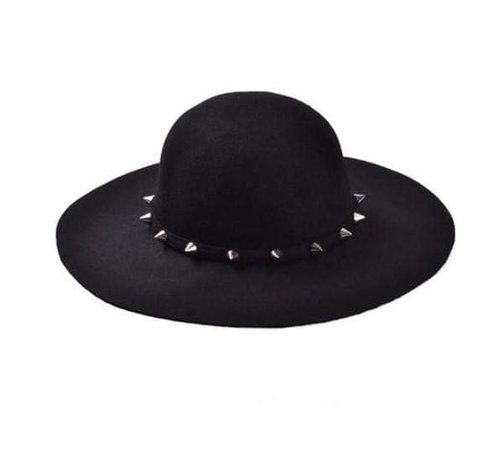 *clipped by @luci-her* Gothic Sun Hat   Brim Hat - Gothic Babe Co