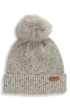 Barbour Weymouth Pom Beanie | Nordstrom