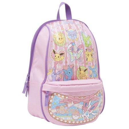 Pokemon Center Original Rucksack Backpack Bag Eevee Pikachu Sylveon Japan