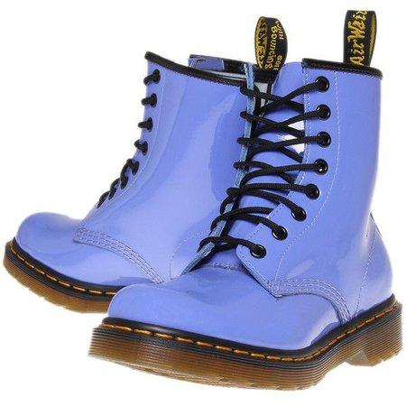 Light Blue Doc Marten Boots