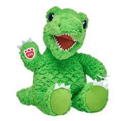 Dino-Mite T-Rex (With images)   Custom stuffed animal, Animal plush toys, Build a bear