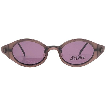 New Vintage Jean Paul Gaultier 56 7202 Magnetic Tortoise Japan Sunglasses For Sale at 1stDibs
