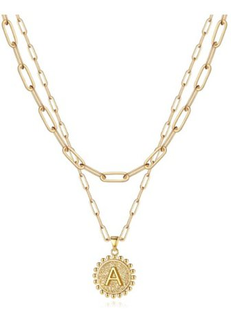 Gold initial Chain