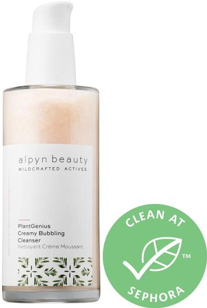 Alpyn Beauty alpyn beauty - PlantGenius Creamy Bubbling Cleanser with Fruit Enzymes & AHAs
